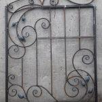 Решетки кованые фото 77
