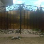 Ворота фото 43