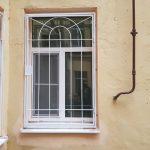 Сварные решетки на окна 86
